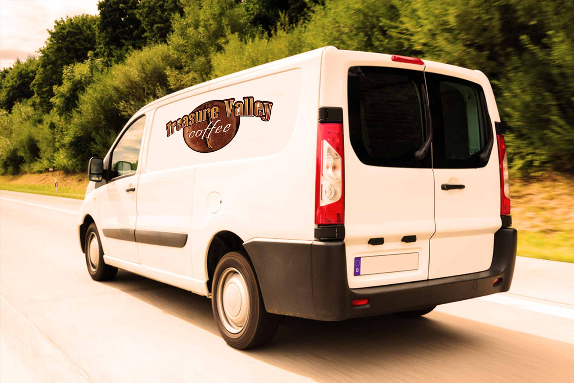 coffee team supplies truck